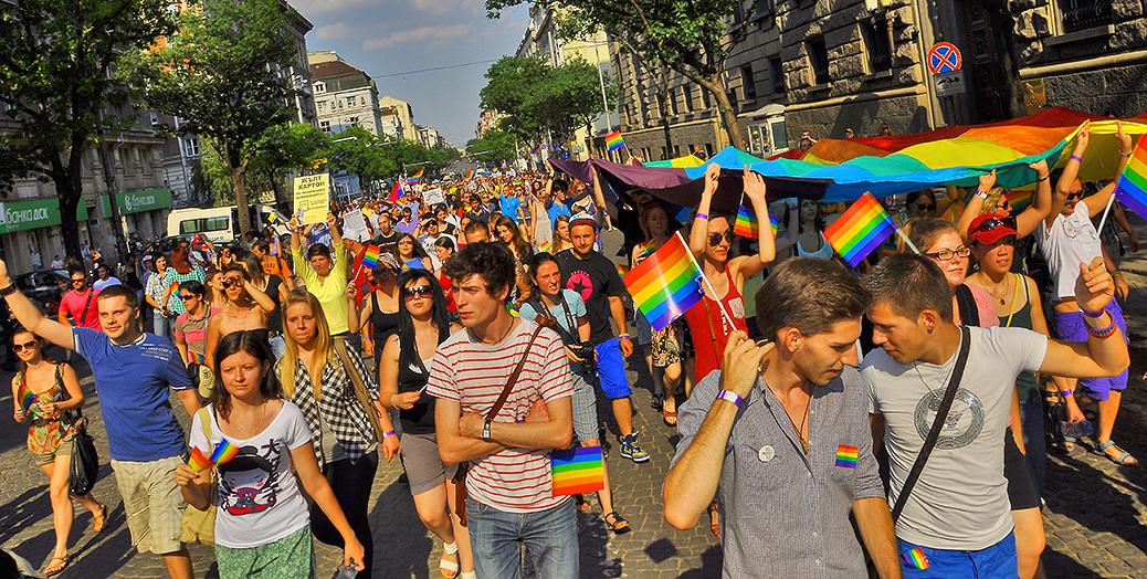 1ère gay pride à Sofia